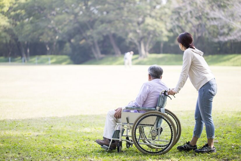 Hiring a live-in caregiver is another option for elderly care.