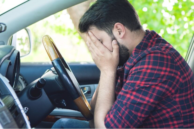 Address your anxiety around driving.